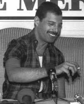 Freddie smoking